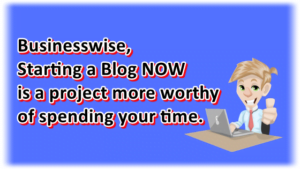 Starting a blog is more worthy of spending your time than binge watching or playing ML.