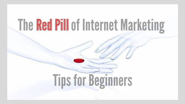Tips for beginners in internet marketing.